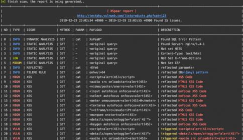 XSpear:XSS扫描与参数分析工具,基于Ruby开发,支持Config文件